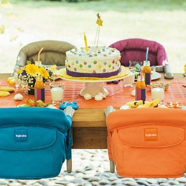 Cuando tienes muchos bebés en la fiesta de cumpleaños... #inglesina #trona #cumpleaños http://www.pequemonster.com/trona-de-viaje-fast-de-inglesina-759.html?search_query=trona+inglesina&results=3