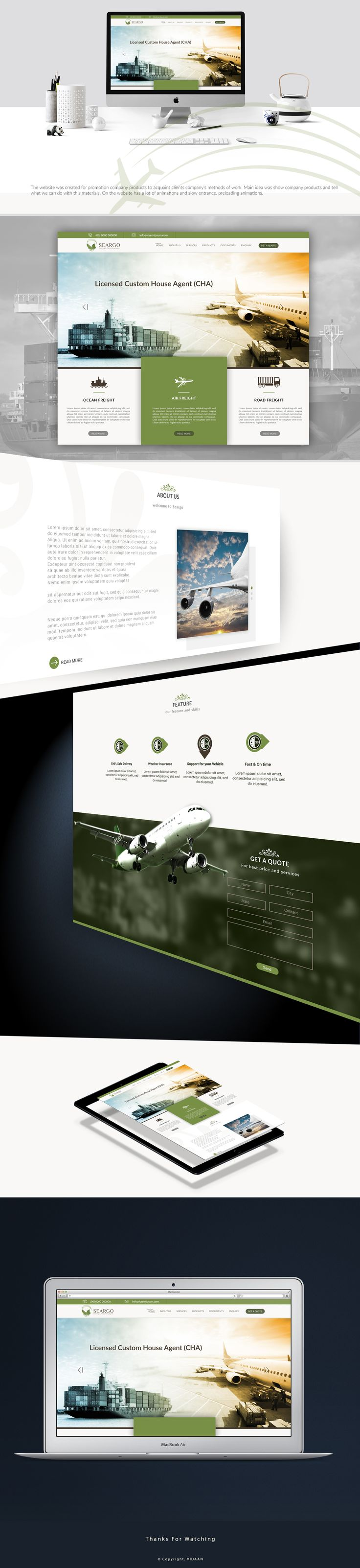 "Check out this @Behance project: ""Seargo's Landing Page Design"" https://www.behance.net/gallery/48164225/Seargos-Landing-Page-Design"