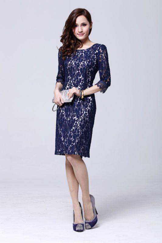 lace middleton s kleid kate middleton s navy spitzenkleidern silber ...