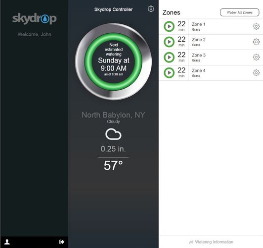 Skydrop Wi-Fi Sprinkler Controller