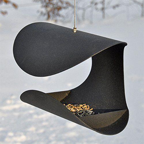 Dänisches Design Vogelfutterhaus - Vogelhaus Vogelstation Futterhaus Vogelhäuschchen Futterhaus Vogelfutterstation