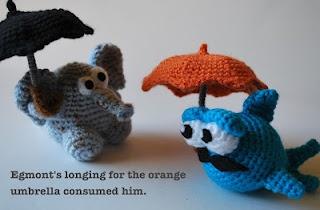 Woolly Toons: Egmont's Umbrella