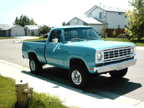 ✿1974 Dodge W100 Power Wagon✿ Maintenance/restoration of old/vintage vehicles: the material for new cogs/casters/gears/pads could be cast polyamide which I (Cast polyamide) can produce. My contact: tatjana.alic@windowslive.com