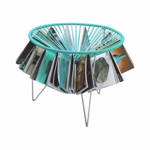 sillas acapulco ( vinilos flexibles) silla tejida revistero