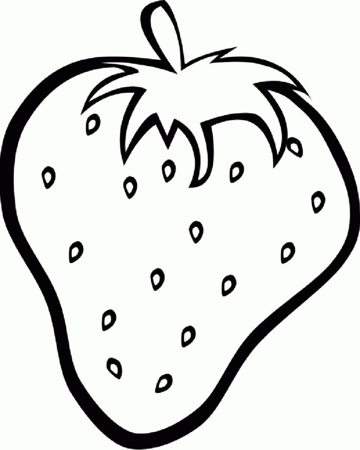 Free Printable Fruit Coloring Pages For Kids (With images