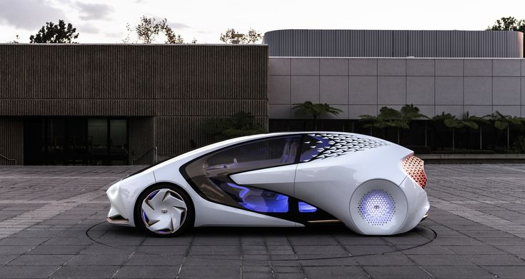 Toyota's Concept-i Makes the Driver Vehicle Relationship Personal
