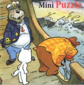 Bommel en Tom Poes - Mini Puzzle 'Zeeziek'