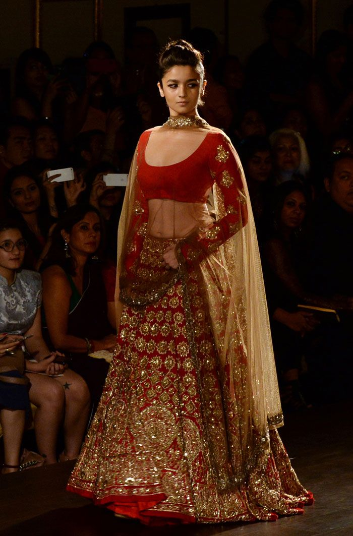 Only red lengha I would ever wear