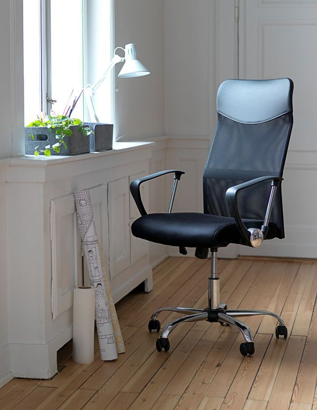 Office Chair Billum Black With Images Office Chair Chair Comfortable Office Chair