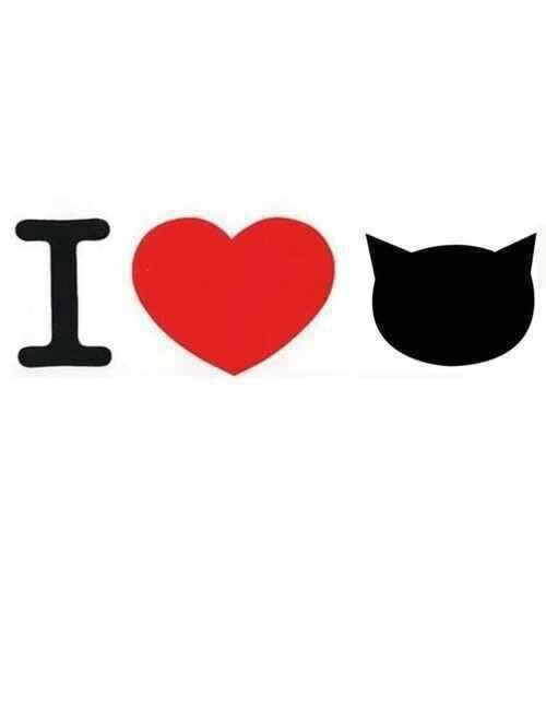 I LOVE THE CAT'S / AMO LOS GATOS... pintar ...bordar o aplicar en tela