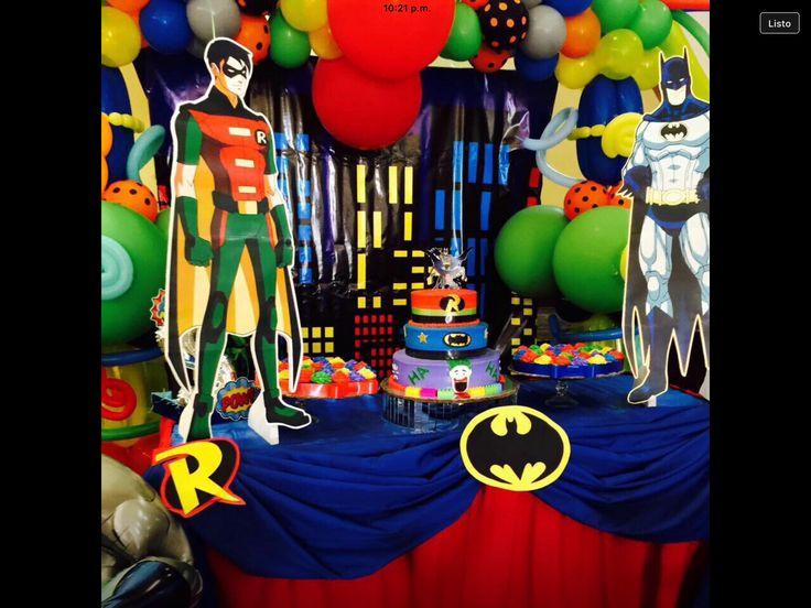 Party Batman & Robin