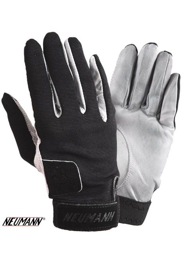 Neumann Tackified Genuine Leather Summer Gloves