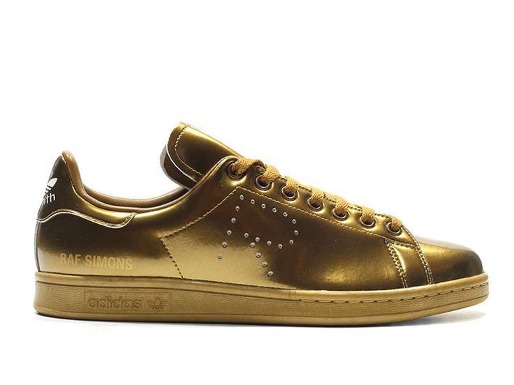 Adidas Taille Homme/Femme x Raf Simons Stan Smith Copper Metallic Adidas  Pas cher