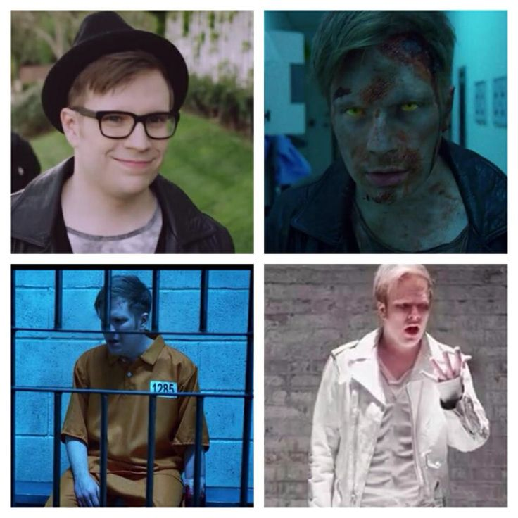 Patrick's many looks in the YBC. I love in the last pic how he is so confused