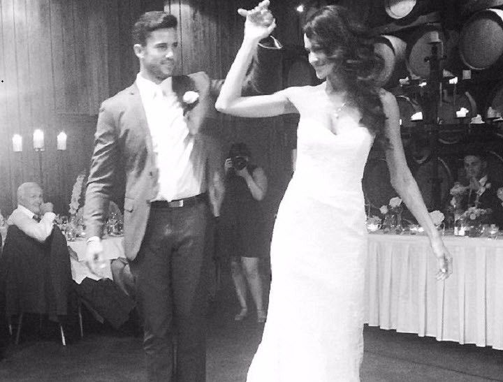 The first pictures of former Bachelorette Alana Wilkie's wedding.
