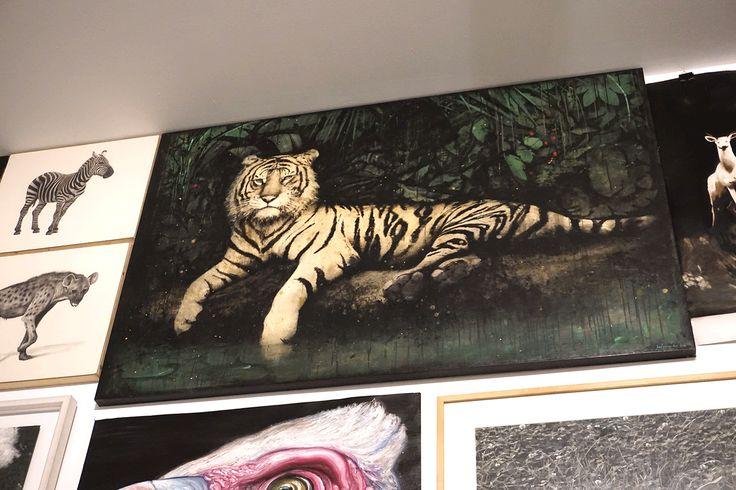"""David Morago en la #Exposición """"Animalista"""" en La Casa Encendida #Madrid #Arte #Art #ContemporaryArt #ArteContemporáneo #Arterecord 2016 https://twitter.com/arterecord"""
