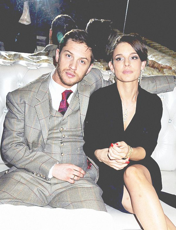 [ Back in the days: Tom Hardy & Ex-Girlfriend and baby-mama Rachael Speed ]