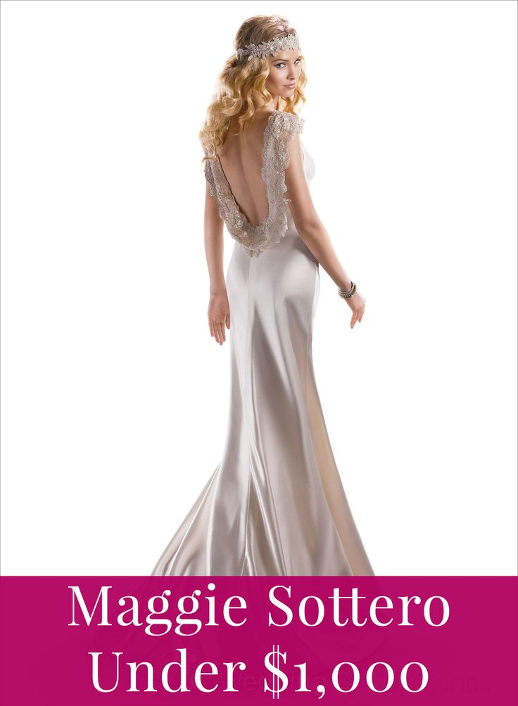 Maggie Sottero for under a grand!
