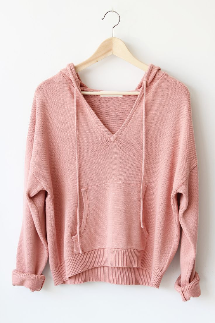 "- Details - Size - Shipping - • 60% Rayon 40% Cotton • Loose fit pullover knit hoodie • Hand Wash • Line dry • Imported • Measured from small • Length 21"" • Chest 21"" • Waist 20"" • Sleeve Length 27"" -"
