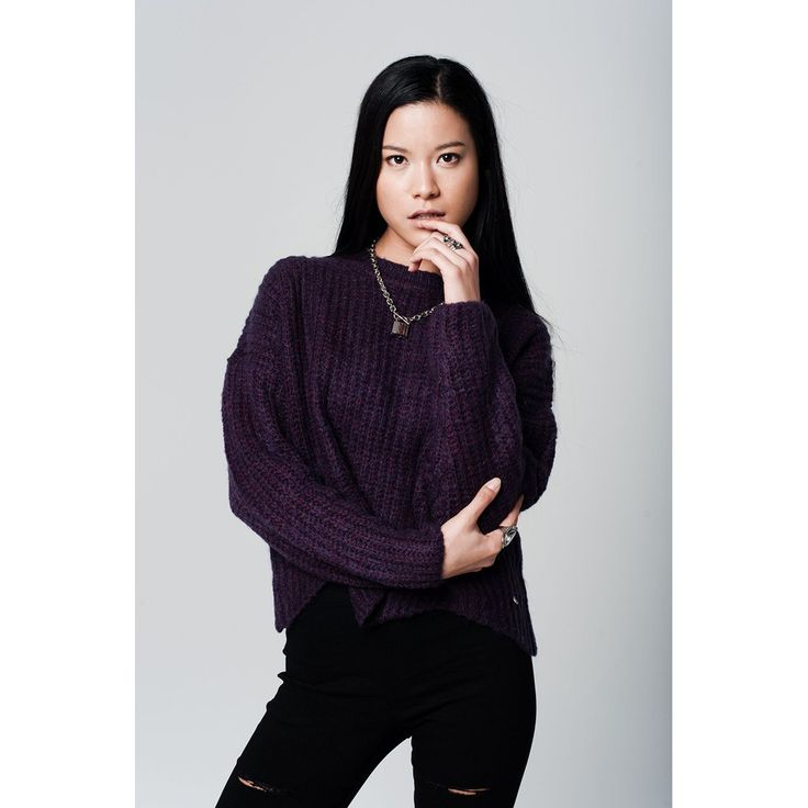 Just in! Shop onehillenvie.com or our app now! Dip Hem Purple Ju... Click here http://www.onehillenvie.com/products/dip-hem-purple-jumper?utm_campaign=social_autopilot&utm_source=pin&utm_medium=pin