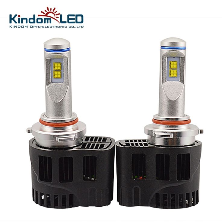 (79.95$)  Buy here  - KINDOMLED All-In-One 11-30V 6000K White 55W 10400LM HB3 H4 LED H7 D1 H10 COB Headlights bulbs Replacement Lights Halogen & HID