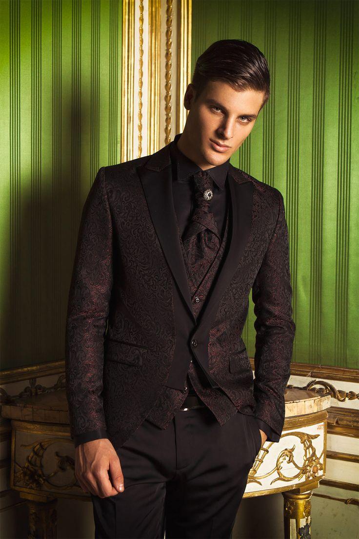 #impero #uomo #abito #elegante #wedding #dress #mariage #matrimonio #man #elegant #abiti #sera #ceremony #suit #groom #sposo #black #white #bianco #nero #imperouomo #rosso #red