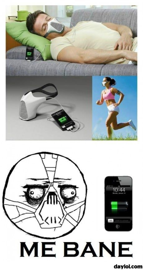 I want ... - DayLoL.com - Your Daily LoL!: Bane, Iphone Charger, Funny Pictures, Funny Meme, Humor, Things, Charger Funny, Funny Iphone