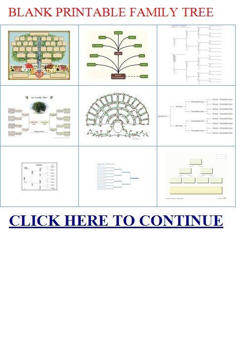 family tree templates free