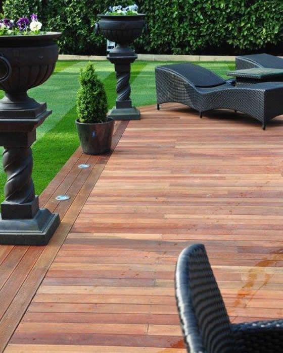 mybe the lights on the edge like this.  Deck idea. See more at ww.decora.me