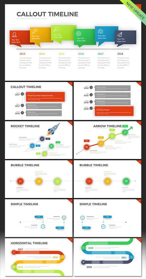 the 25+ best timeline in powerpoint ideas on pinterest | timeline, Powerpoint templates