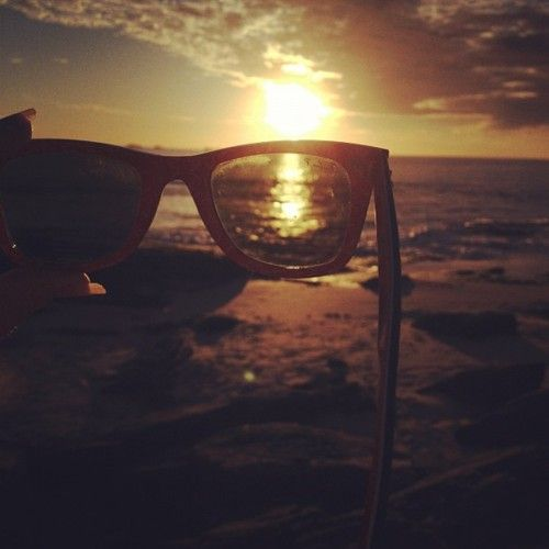 My photo please don't Steal!  Sunlight through the Ray-Bans