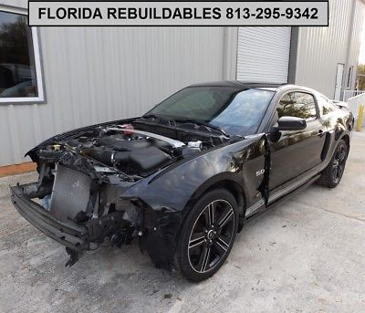 eBay: 2014 Ford Mustang GT/CS California Special Coupe, 5.0L V8, 70,870 alvage Rebuildable, 420-Hp, Navigation,… #fordmustang #ford