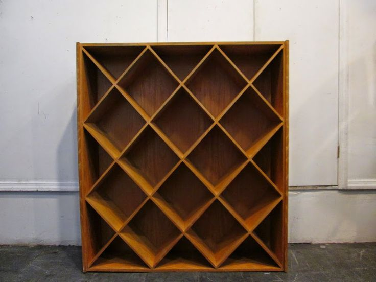 Wood Book Case 1