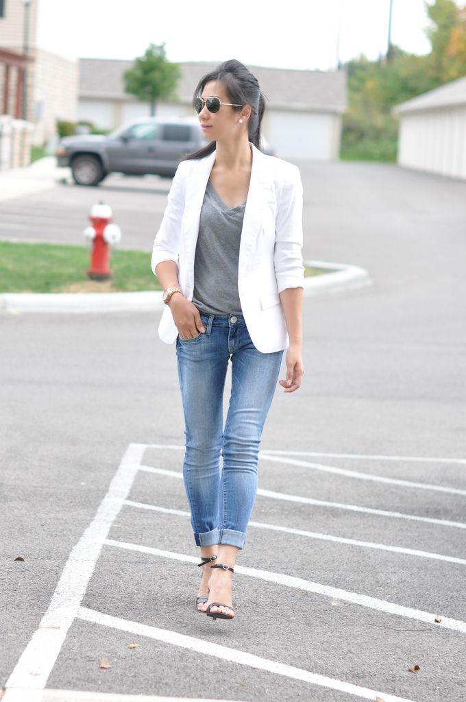 jeans and blazer petite - Google Search