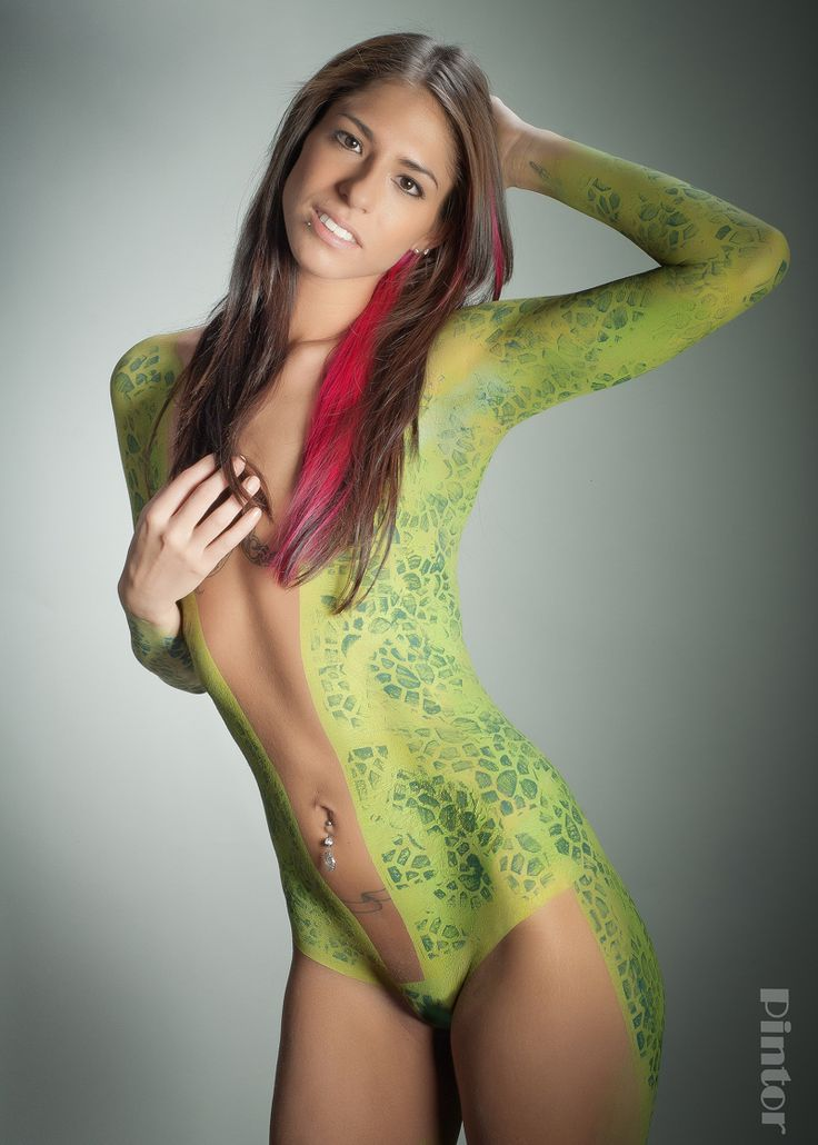 body painting nude girls