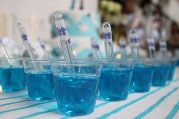 Gelatina azul...
