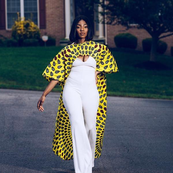 haute qualité nouvelles promotions service durable Kimono Cover Up   African fashion, Latest ankara short gown ...