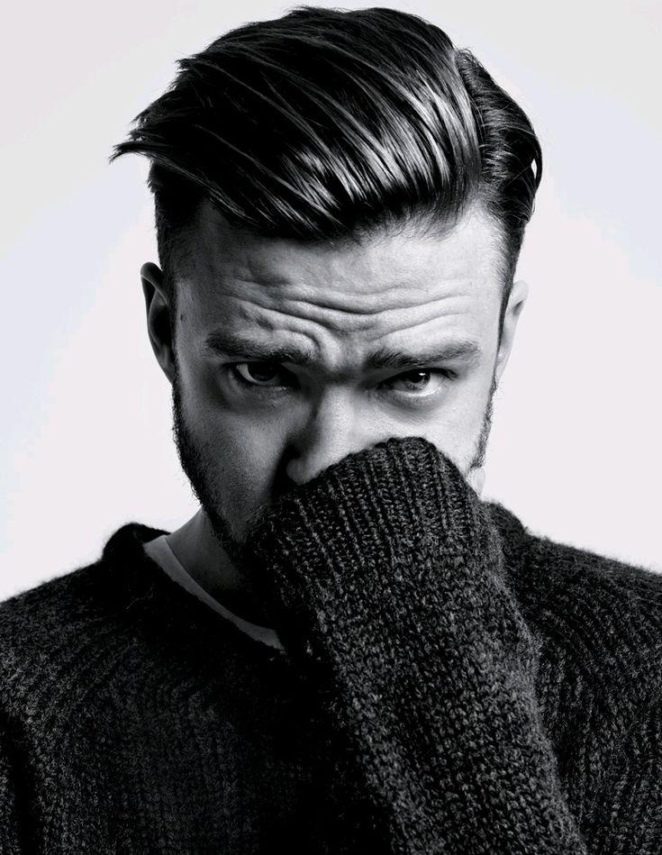 Justin Timberlake by Hedi Slimane for T Magazine