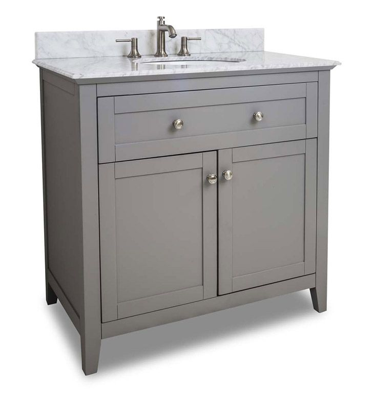 36 inch bathroom vanity with top. This Ansen 36 inch Bathroom Vanity Grey Finish Carrera White Marble Top  Porcelein Bowl Best 25 vanity ideas on Pinterest bathroom