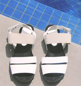 Nikel and Sole Porto Sandals