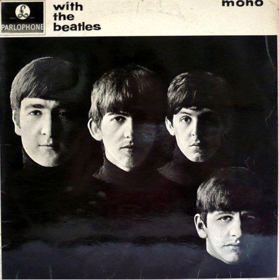 The BEATLES With The Beatles 1963 UK Rare 2nd Press Mono Gotta Vinyl 33 LP Album  pmc 1206 - Free Worlwide Shipping