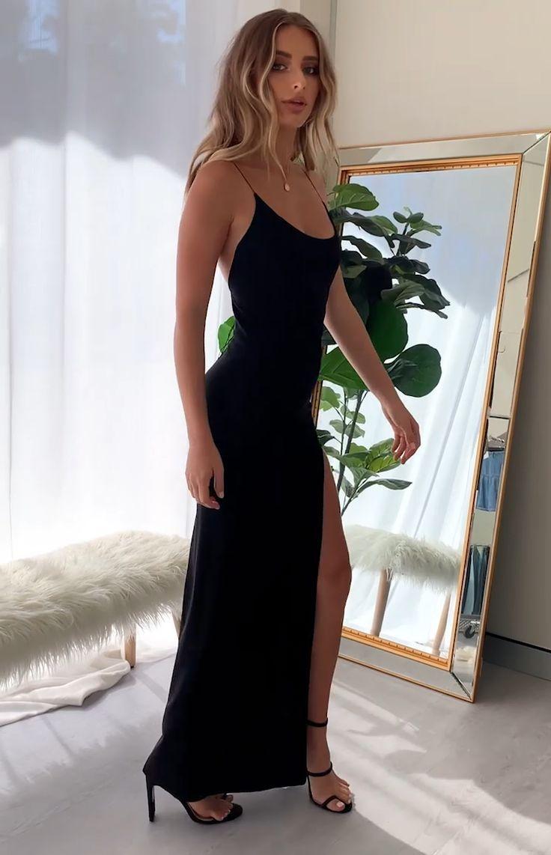 Alissa Formal Dress Black - XXS in 2020