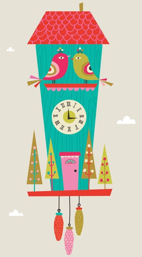 """Kellie Bloxsom - Illustration and Design: Preview """"I'M CUCKOO"""""""