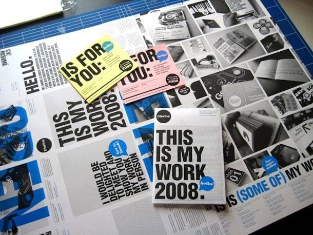 Graphic Design Inspiration / Poster CV !