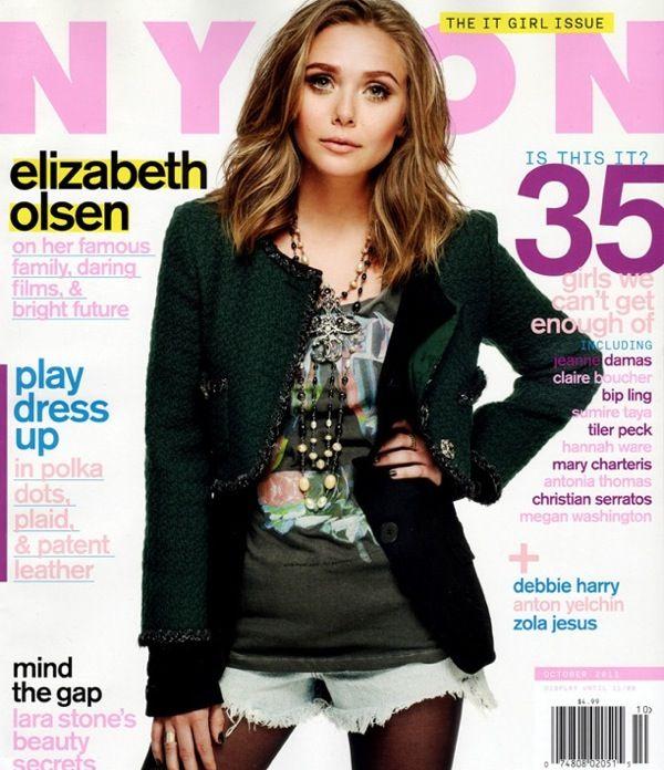 Elizabeth Olsen Nylon Magazine via Olsens Anonymous