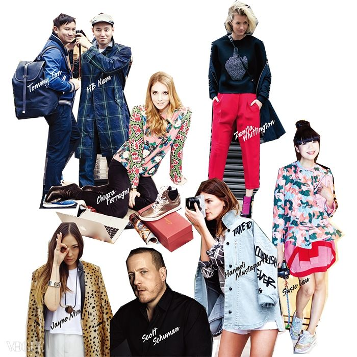 패션 블로거들의 세상
