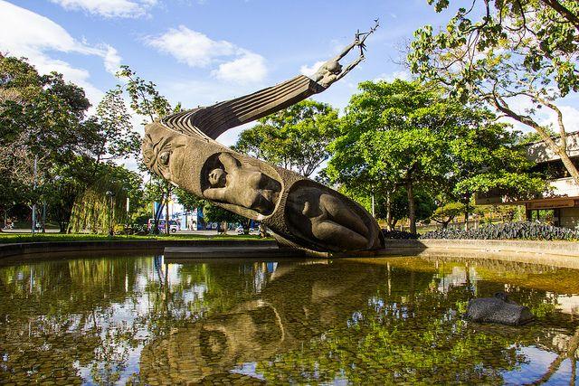 Colombia - Monumento a la Vida - Rodrigo Arenas Betancur, Medellin, Antioquia.
