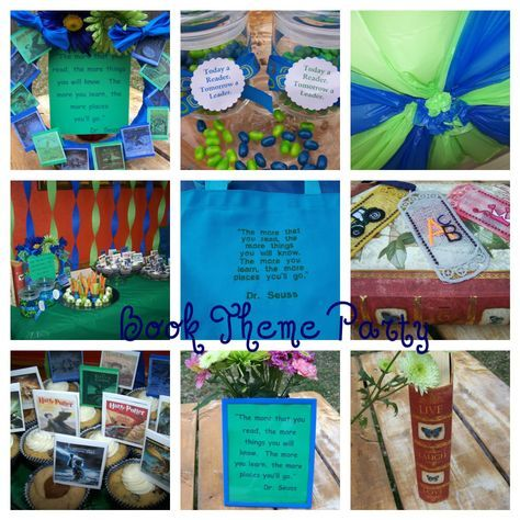 Planning a book theme party by @Natalie | Cooking for My Kids | Cooking for My Kids