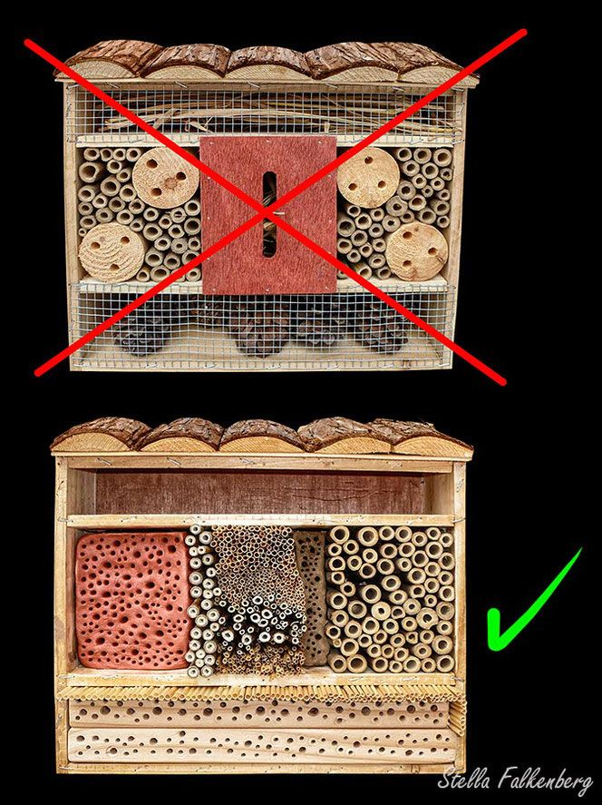 Insektenhotel Nisthilfe Insektennisthilfe LIDL insect nesting aid insect hotel mason bee