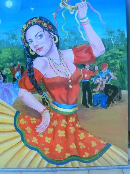 ciganinhas | dançarina romanês ou Sarita